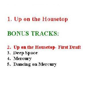 Up On the Housetop- Track List
